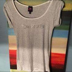 Army Scoop Bebe Top Brand new! almost a 100% discount. perfect quality. the sleeves are folded. bebe Tops Tees - Short Sleeve