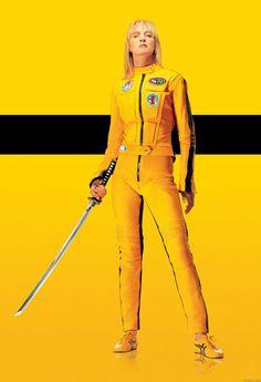 Who else makes buttercup yellow look so tough? #KillBill #TheShirtCompany