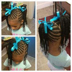 Hairstyle Womens 2016 Toddler Girl Short Hairstyles Short Scene Haircuts 20190521 is part of braids - braids Toddler Braided Hairstyles, Toddler Braids, Lil Girl Hairstyles, Girls Natural Hairstyles, Natural Hairstyles For Kids, Braids For Kids, My Hairstyle, Girls Braids, Kids Braids With Beads