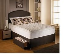 "2ft 6"" Air Flow 2000 Small Single Divan Bed"
