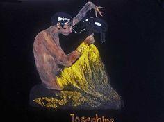 Josephine Baker Tshirt Painting 3d Wearable Art