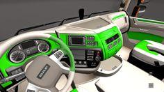 Skin - Reich Verde Daf Euro 6 + Cabine Para V.1.16.X By: Repin | Blog Euro Truck 2