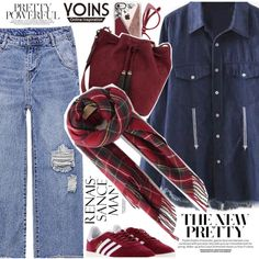 School style by vanjazivadinovic on Polyvore featuring adidas, Loeffler Randall and Casetify