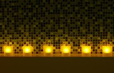 Safe tealights for any space by Philips. #LED