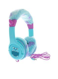 Disney Monsters University Sulley Headphones | Hot Topic BOOYA!!