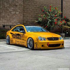 Mercedes CLK by Rocket Bunny