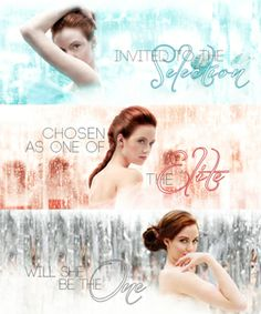 The selection series are EPIC!!!! It has a love triangle to!!!!!! LOL! :)