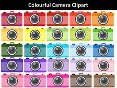 Colourful Cameras Clipart by PrwtoKoudouni Pink Minnie, Clip Art, Cameras, Image, Color, Camera, Colour, Pictures, Film Camera