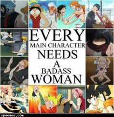 Every main character needs a badass woman