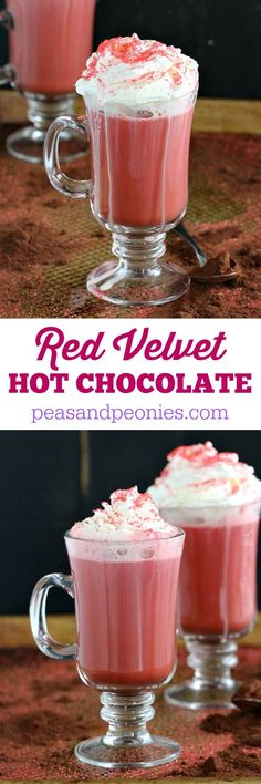 Red Velvet Hot Chocolate & Holiday Cards