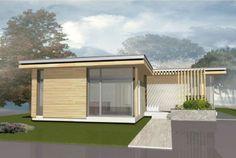 Одноэтажный дом с плоской крышей: проект одноэтажного дома с плоской крышей