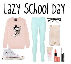 """""""Lazy School Day"""" by llaj134 ❤ liked on Polyvore"""