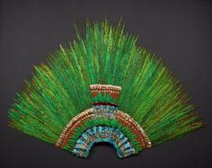 La pieza conocida como Penacho de Moctezuma es un quetzalapanecáyotl, tocado de plumas de quetzal engarzadas en oro y piedras preciosas, actualmente en el Museo de Etnología de Viena, en Austria, que según la tradición perteneció al tlatoani Moctezuma Xocoyotzin (1466-1520), aunque no hay certeza histórica de ello, ni autenticidad de su antigüedad. Incluso que sea un atavío para la cabeza ha sido cuestionado. Hay una réplica exacta en el Museo Nacional de Antropología de la Ciudad de México