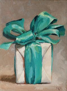 I wonder what's inside.  from karen appleton oil paintings
