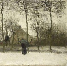 Winterlandschap, Willem Maris, ca. 1875 - Landschap-Verzameld werk van Rebecca Vleeschouwer - Alle Rijksstudio's - Rijksstudio - Rijksmuseum