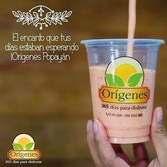 #OrígenesPopayán batidos de frutas - wraps - reposteria saludable!  Kra 7 # 17N - 34 al lado de la pizzarra el recuerdo  Domicilios 8200929