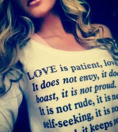 Love the shirt and verse <3