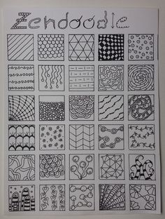 Art Discover artjournaling Some patterns I like :) Zentangle Drawings Doodle Drawings Doodle Art Zentangles Zen Doodle Easy Zentangle Patterns Doodle Patterns Tangle Doodle Tangle Art Doodle Art Drawing, Zentangle Drawings, Mandala Drawing, Mandala Art, Zentangles, Mandala Design, Easy Zentangle Patterns, Zen Doodle Patterns, Doodle Art Designs