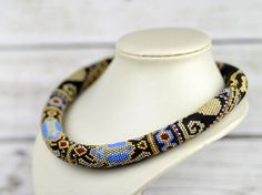 Egyptian necklace statement boho jewelry egyptian jewelry for wife egyptian scarab necklace best gift for her birthday gifts for girlfriend