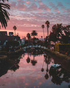 Venice Beach Canals by Debodoes   California Feelings