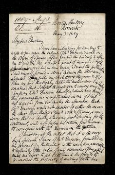 Letter to Darwin suggesting he write about pigeons and forget about the origin of the species!!