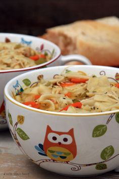 Magic Chicken Noodle Soup warms the soul.