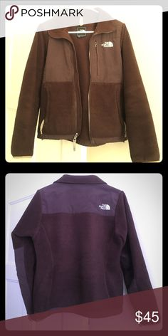"The North Face Denali Jacket The North Face Brown Denali Fleece Jacket. Minor wear. Versatile jacket that will keep you warm for a trip to the gym or a night out! Size XS. Measurements approximately: Length 23""; Sleeves 23""; Chest 17"". No trades. The North Face Jackets & Coats Utility Jackets"