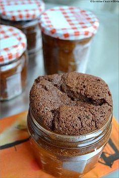 Moelleux au chocolat en bocal