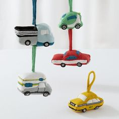 Playtime Anytime Rattles (Set of 5 Cars) | The Land of Nod