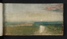 Moonlight over the Roman Campagna