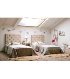Comprar online Cabezal Tapizado Juvenil : Modelo MALLORCA Bed, Furniture, Home Decor, Model, Medium Brown, Upholstered Headboards, Climber Plants, Majorca, Decoration Home