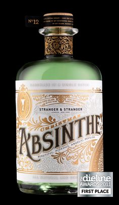 For our 12th Christmas gift we resurrected the glory days of Absinthe and created a bespoke single batch of only 250 bottles.