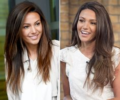 Michelle Keegan has the most desirable hair in the UK, according to a new survey