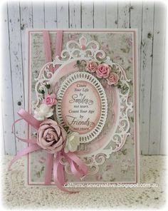 Card: Keep Smiling ~ Maja Designs ~