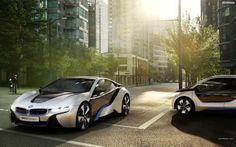 BMW i8. You can download this image in resolution 2560x1600 having visited our website. Вы можете скачать данное изображение в разрешении 2560x1600 c нашего сайта.