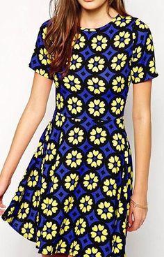 Floral Mosaic Dress  16.99 Blusas Tejidas aa1f65c50721a