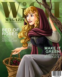 Enchanting Disney Covergirls - Robby Cook Creates a Magazine Featuring Disney Princesses (GALLERY)