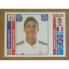 Football Soccer Sticker Panini UEFA Champions League 2014 #121 Real Madrid CF