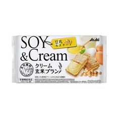 クリーム玄米ブラン <豆乳カスタード> - 食@新製品 - 『新製品』から食の今と明日を見る! Soya Products, Packaging Snack, Japanese Products, Snack Recipes, Snacks, Laundry Detergent, Food Design, Packaging Design, Waffles