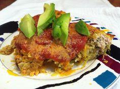 Turkey, Egg, and Spaghetti Squash Casserole | fastPaleo Primal and Paleo Diet Recipes