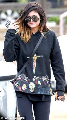 Kylie Jenner love her hair