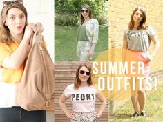 ▶ 4 Summer Outfits! #SUMMERTRILOGY | essiebutton - YouTube