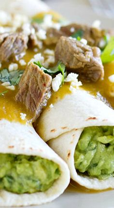 grilled steak tacos guacamole tacos with tomatillo and steak sauce