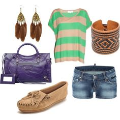 Gotta love Moccasins, created by devyn-rose-brown on Polyvore