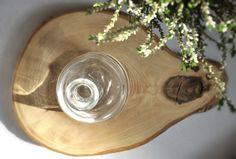 Plaster drewna - taca, podkładka średnia - OLDTREE - Dekoracja stołu