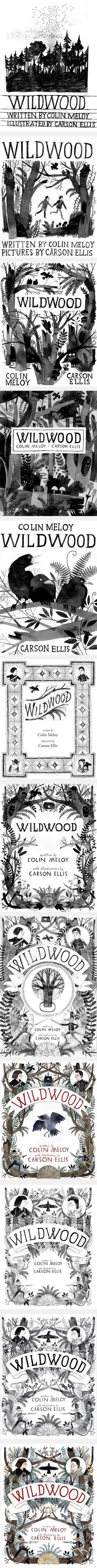 The agony and the ecstasy - the story about the cover design of Wildwood by Colin Meloy and Carson Ellis