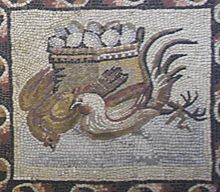 mosaic chicken | 220px-Vatican_Museum_mosaic_chicken_edited.jpg