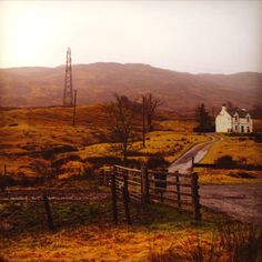 Scottish Highlands quaint farm