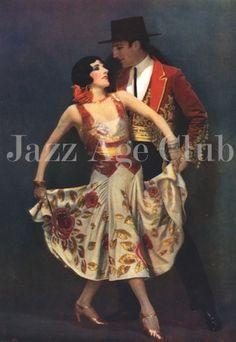 Fowler and Tamara - Jazz Age Club Spanish Dance, Ballroom Dancing, Jazz Age, Film Posters, Club, Origins, Character, Paris, Image