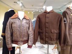 Service jackets, American, c. 1940-1945